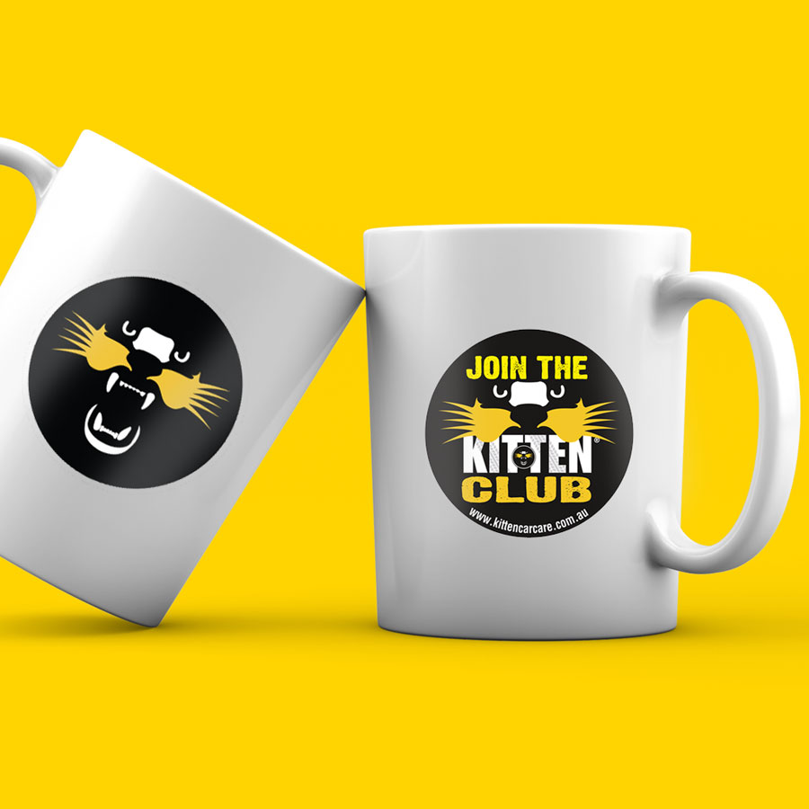 Join the KITTEN Club Mugs