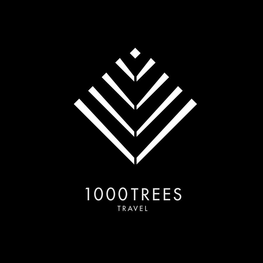 1000 Trees Travel Logo