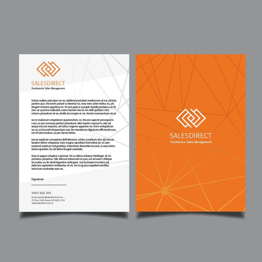 Sales Direct Letterhead