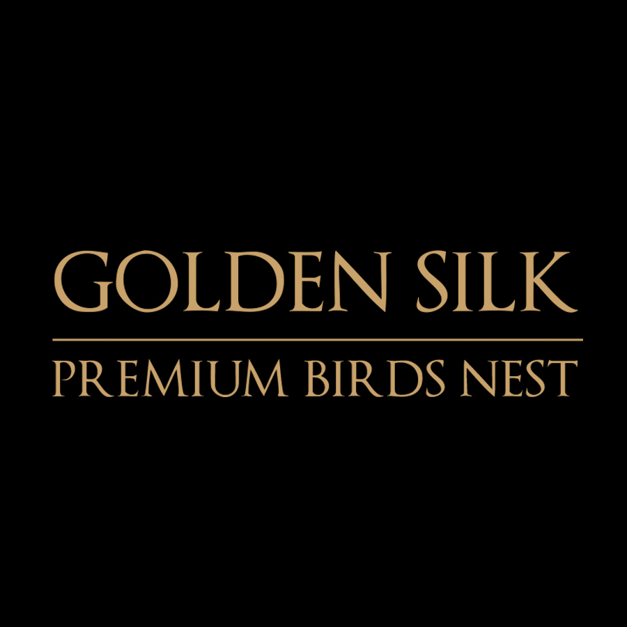 Golden Silk Birds Nest Logo