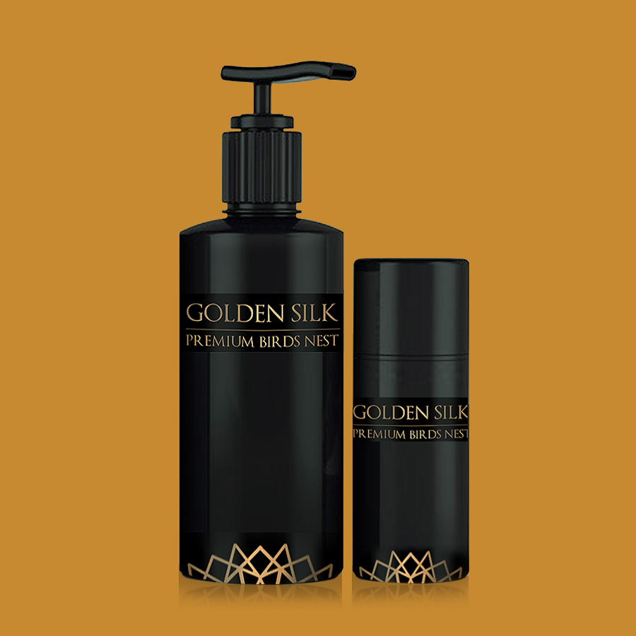 Golden Silk Birds Nest Cosmetics