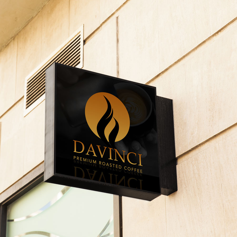 Davinci Shop Sign