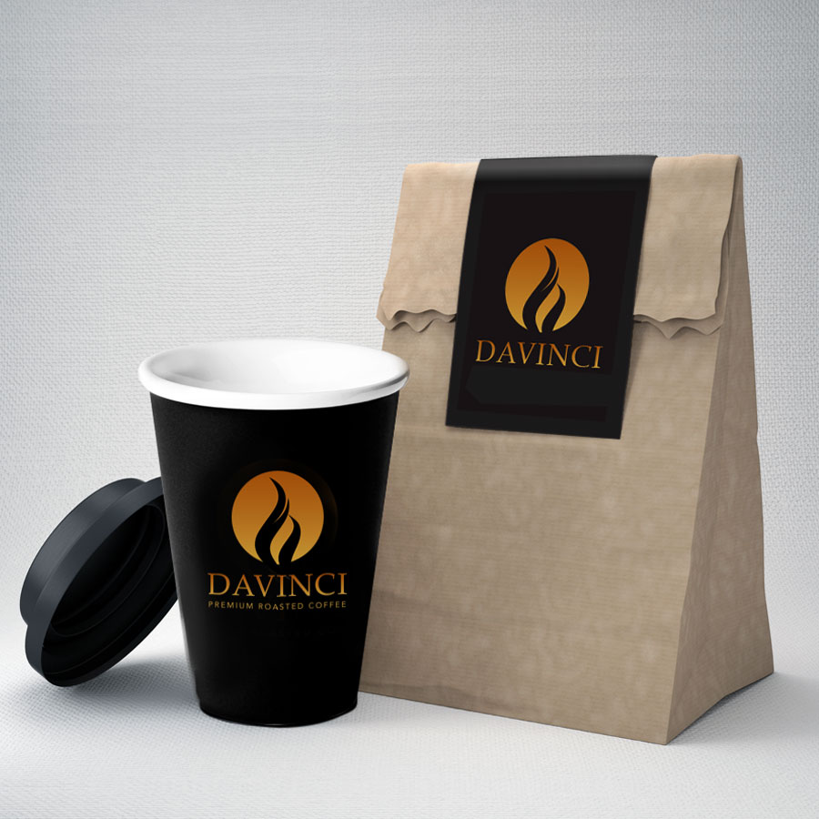 Davinci Takeaway Coffee & Bag
