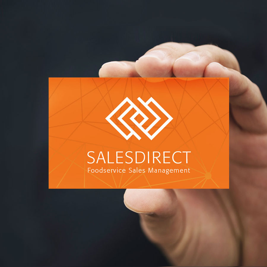 Sales Direct Business Card