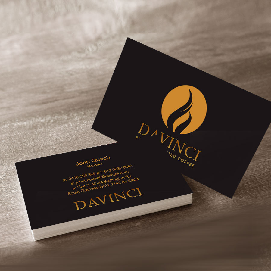 Davinci Business Card