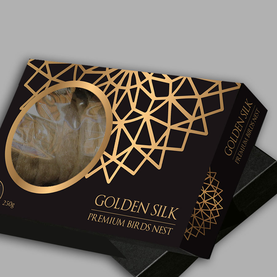 Golden Silk Birds Nest Packaging