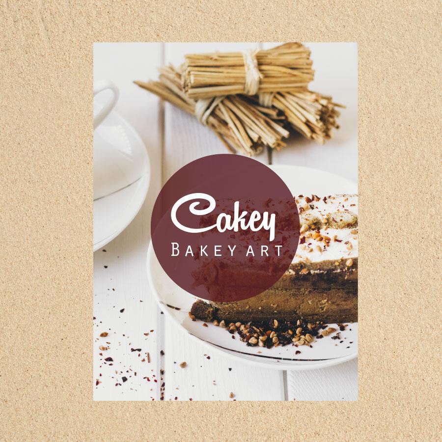 Cakey Bakey Art Flyer